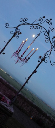 Hanging-candelabra