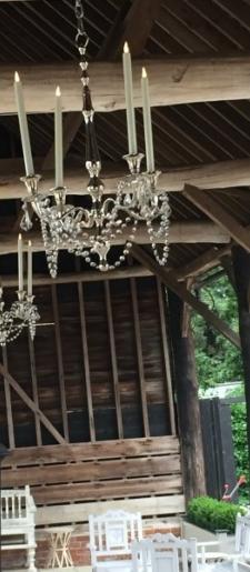 Silver-hanging-candelabra