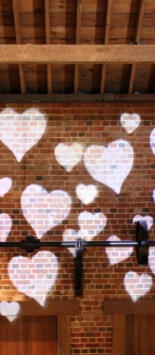 Gobo-heart projection