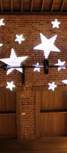 Gobo-star projection