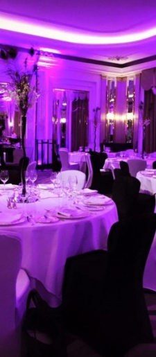 Black-and-white at Claridges