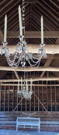 Silver-hanging-chandelier-Gaynes-Park