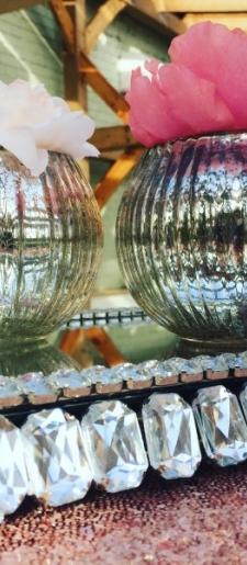 Jewelled-table-mirror