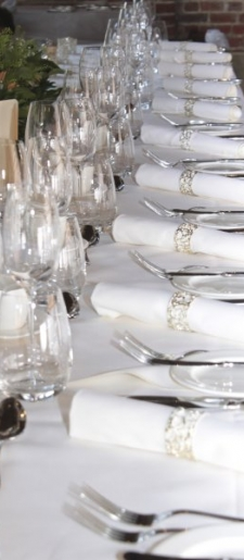 Napkin-decor-in-ornate silver