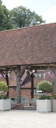 Bunting decor for outside