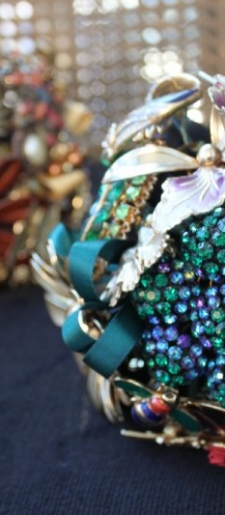 Vintage Brooch Bouquets - in the Vintage Attire Section