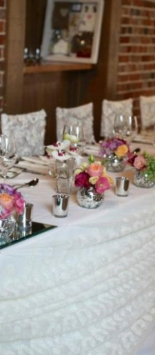 Lace-top-table-decor