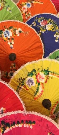 Parasol-multi colours